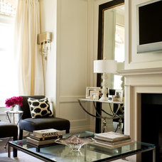 Transitional Living Room by McGill Design Group Inc.