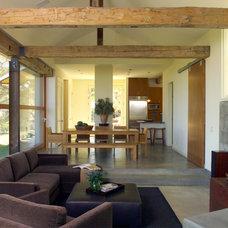 Contemporary Living Room by Sutton Suzuki Architects