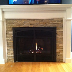 Wyckoff Gas Fireplace Cabinet -