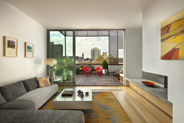 Contemporary Living Room by Sarah Jefferys Design