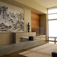 Modern Living Room by miller design