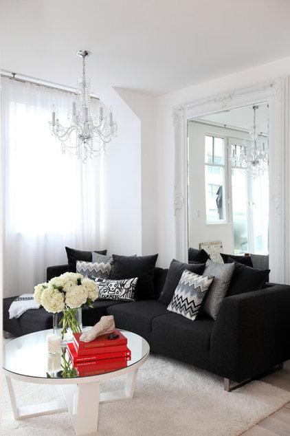 Contemporary Living Room by The Cross Interior Design