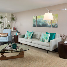 Midcentury Living Room by Jared Sherman Epps