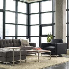 Contemporary Living Room by YLiving.com