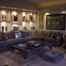 Modern Living Room by James Glover Residential & Interior Design