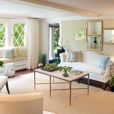 Contemporary Living Room by Marcye Philbrook