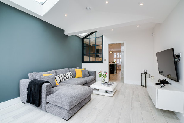 Contemporary Living Room by Finch Lockerbie