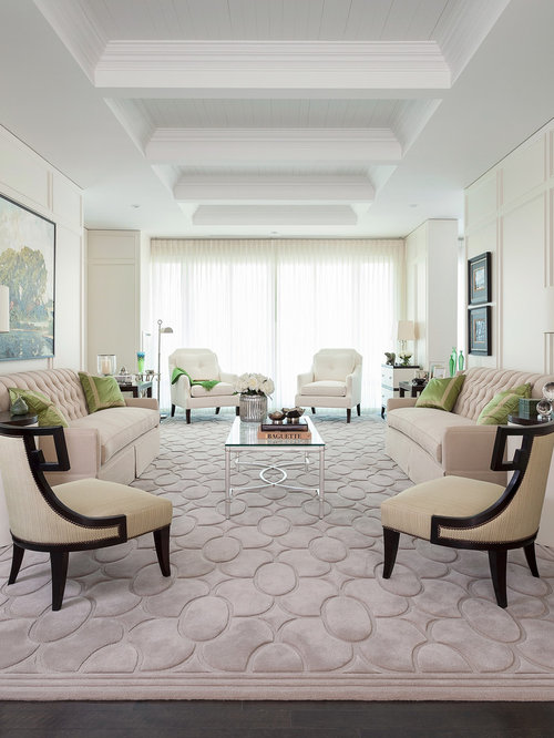 Transitional Formal Living Room Idea In Toronto Part 48