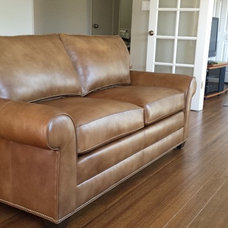 Transitional Living Room by Meghan Kearney for Ethan Allen, Corte Madera, CA