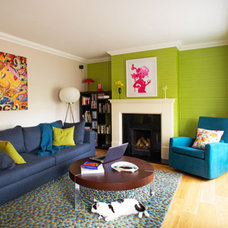 Contemporary Living Room by Think Contemporary