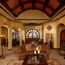 Mediterranean Living Room by Vacation Home Builders