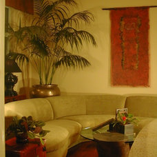 Asian Living Room by Patricia Benson
