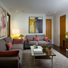 Midcentury Living Room by Lori Dennis, Inc.
