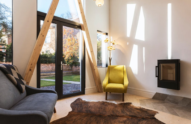 Modern Living Room by Ecospheric