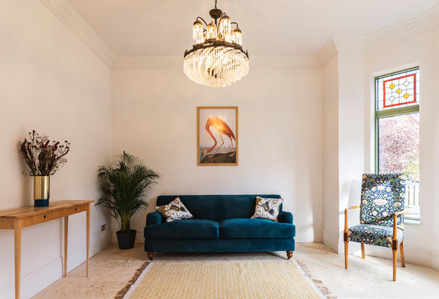 Victorian Living Room by Ecospheric