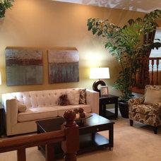 Contemporary Living Room by 3J Design Inc