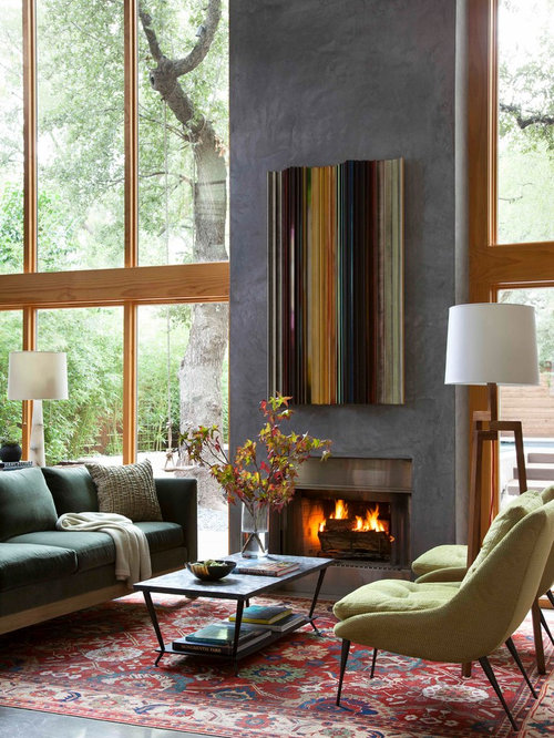 Fireplace Facade Houzz