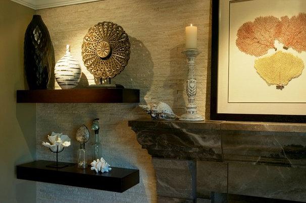 Beach Style Living Room by Zuniga Interiors