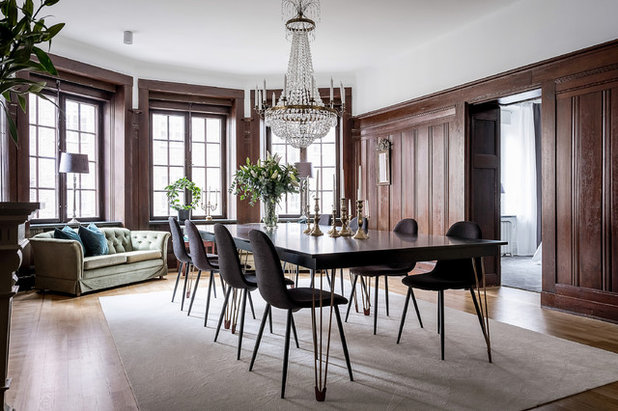 Traditional Dining Room by Bjurfors Göteborg
