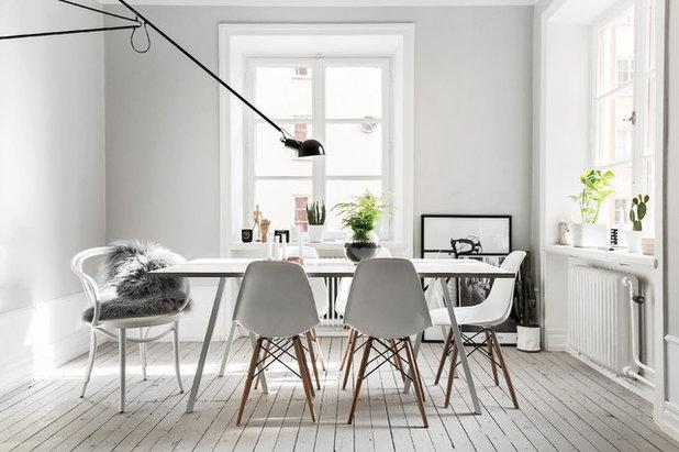 Scandinavian Dining Room by Kronfoto
