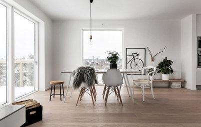 Así se combina el color del suelo con el de paredes y puertas