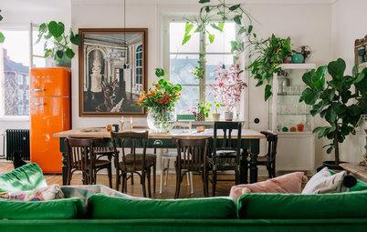 Hemma i Elsa Billgrens drömska lägenhet på Söders höjder