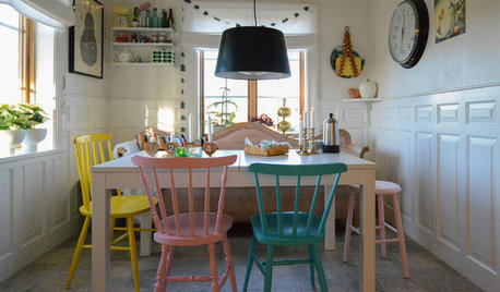 Houzz Tour: Colour Takes the Cake in a Swedish Family Farmhouse