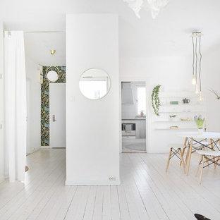 Bild på en mellanstor minimalistisk matplats