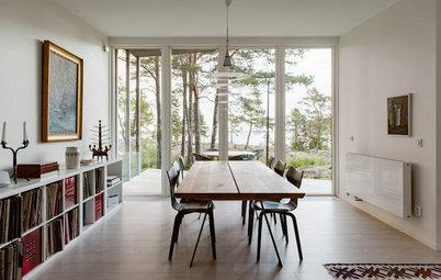 Houzz Tour: Nordisk drømmehus midt mellem skov og strand