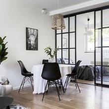 Dela upp stora rum och möblera så du får mer plats