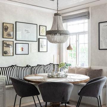 Inredning av villa i Djursholm