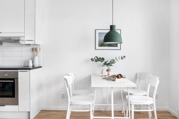 Scandinavian Dining Room by Position Fastighetsförmedling