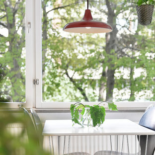 Dining room - scandinavian dining room idea in Stockholm