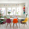 Casas Houzz: Decoración navideña a todo color en Suecia
