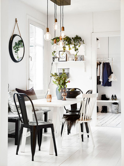 Scandinave Salle à Manger by Anders Bergstedt Photography