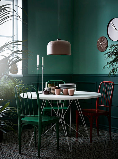 Eclectic Dining Room by Linda Åhman