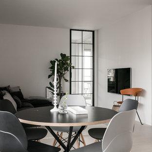Immagine di una sala da pranzo scandinava