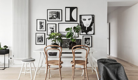 Stylish Schemes to Display Photos and Prints on Your Walls
