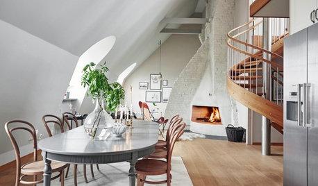 Bygg hemma: 11 smidiga spiraltrappor att inspireras av