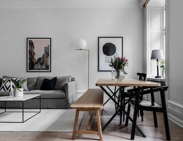Styling av lägenhet inför försäljning