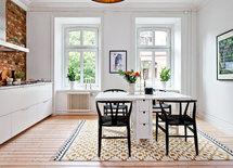 Varifrån kommer mattan i köket, kastellgatan?