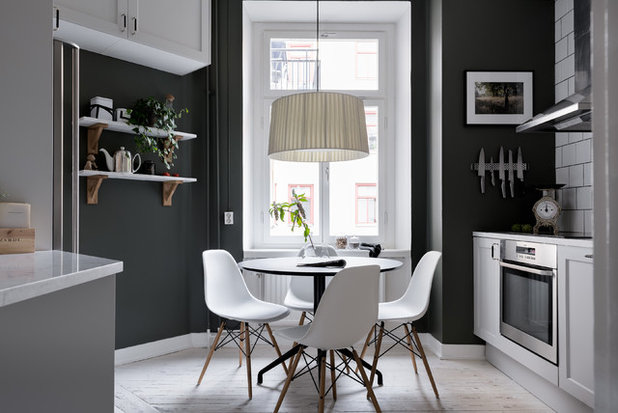 Scandinavian Dining Room by Refine Design Studio