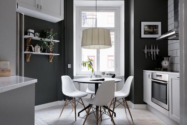 Scandinavian Dining Room by Refine Design Studio