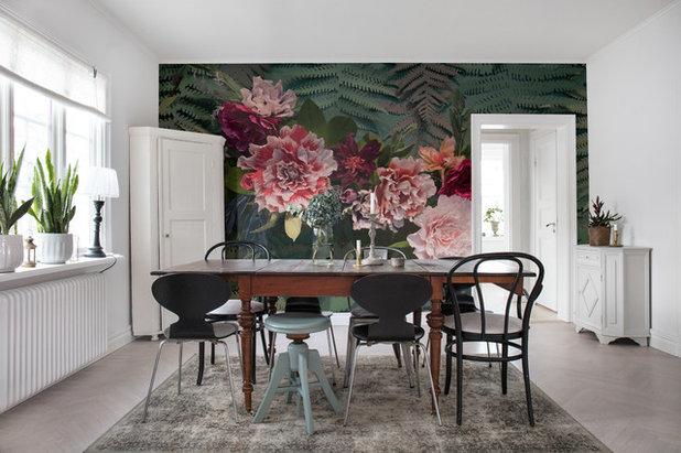 Scandinavian Dining Room by Rebel Walls