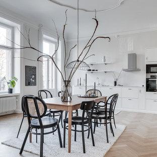 Exempel på en minimalistisk matplats