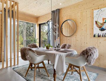 Villa Valsättra – kundanpassat enfamiljhus i massivträ