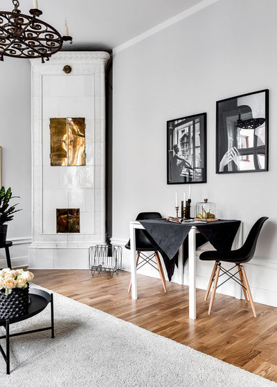 Scandinavian Dining Room by DREAMHOUSE decorations
