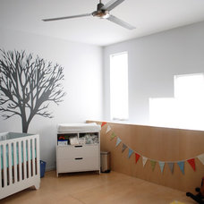Modern Nursery by Nic Darling