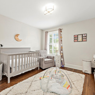 Inspiration for a craftsman nursery remodel in Charlotte