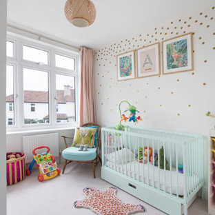Photo of a contemporary nursery in Other.